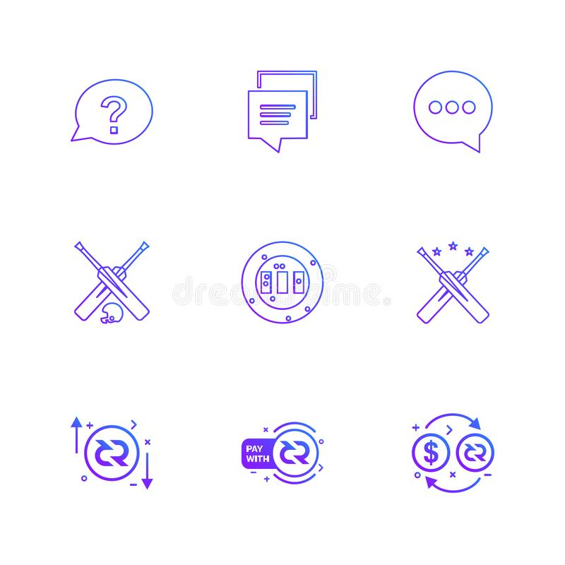 praatje, bericht, gesprek, knuppel, grond, halmet, dollar, p royalty-vrije illustratie