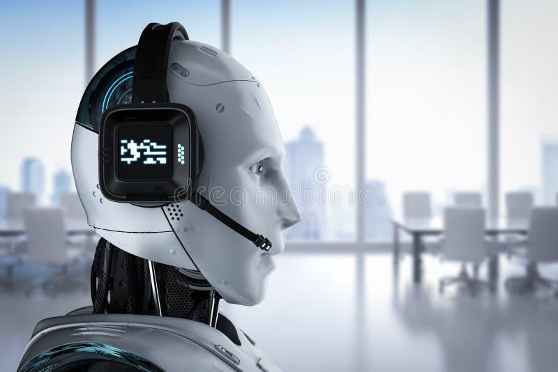 PRAATJEbot concept stock illustratie