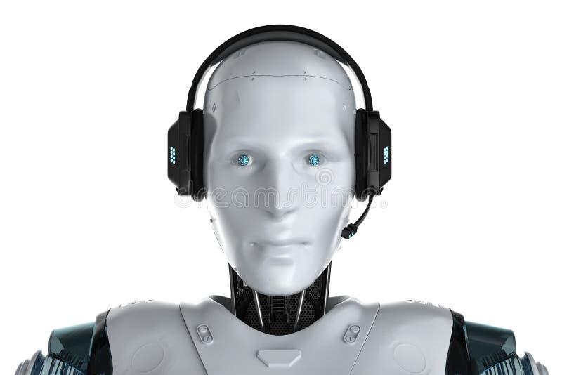 PRAATJEbot concept royalty-vrije illustratie