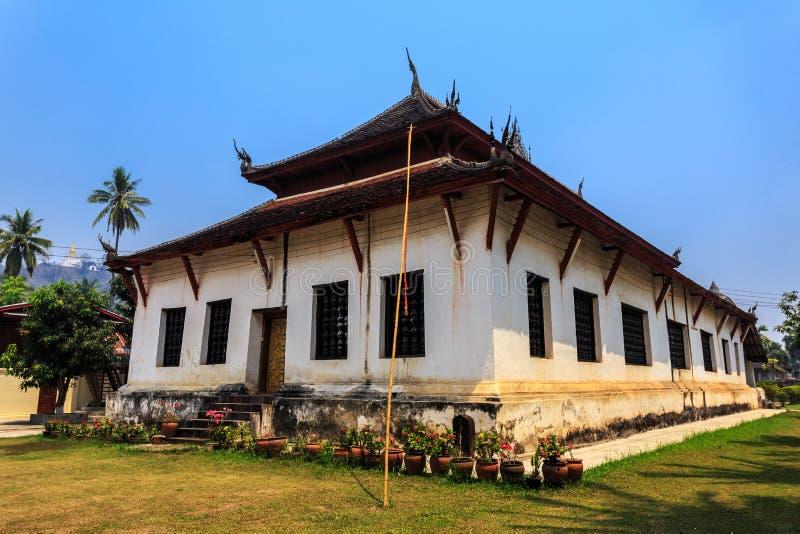 Prabang del luang del visounnarath del tino, tempio antico fotografia stock