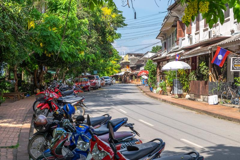 Prabang laos de Luang fotos de stock