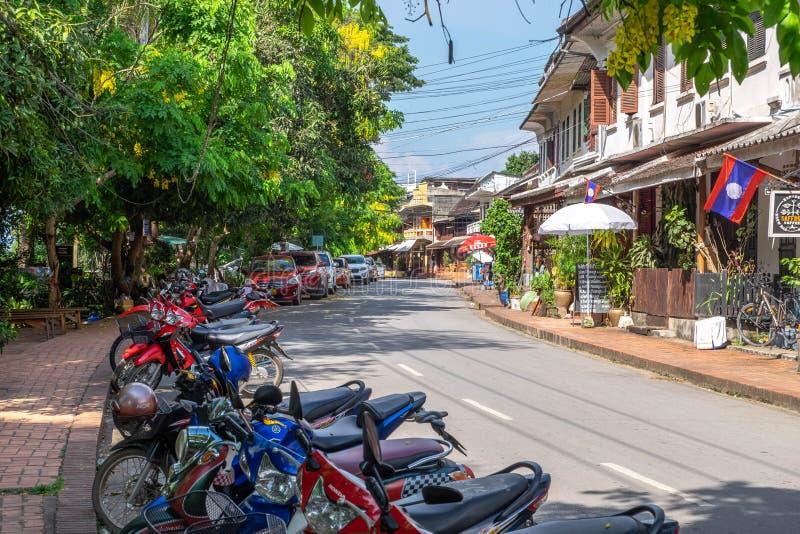 Prabang Laos di Luang fotografie stock