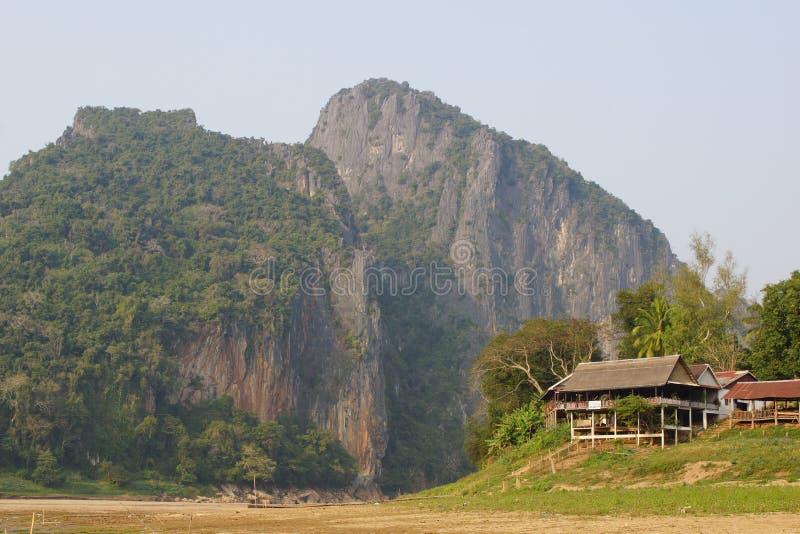 prabang luang Лаоса стоковые фотографии rf