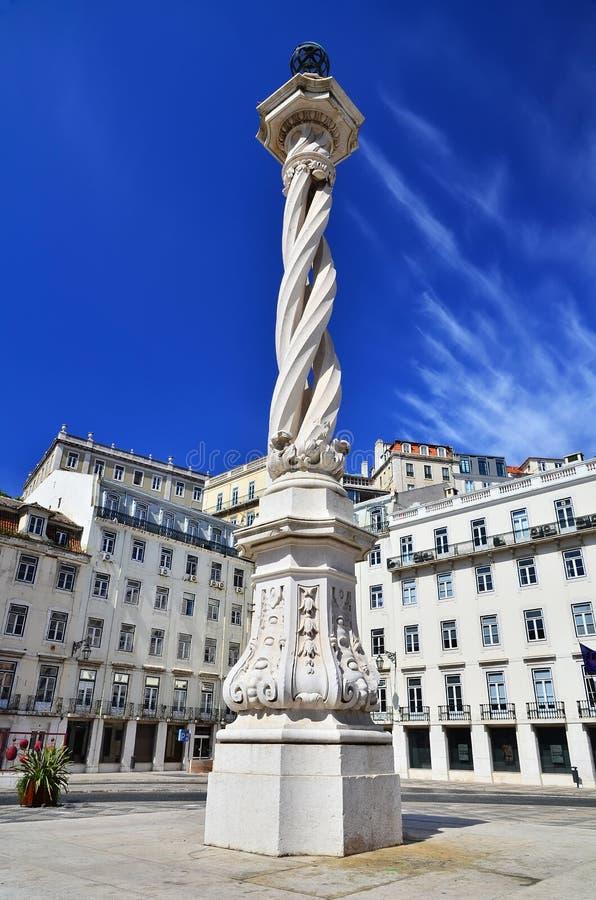 Download Praca Do Municipio (Municipal Square), Lisbon Stock Image - Image of square, column: 24216361