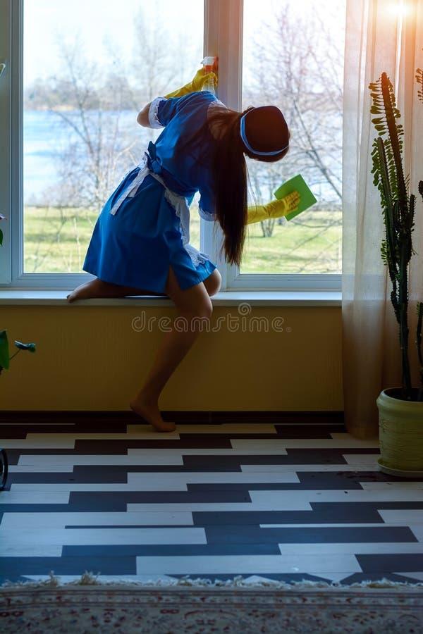 Praca housemaid zdjęcie royalty free