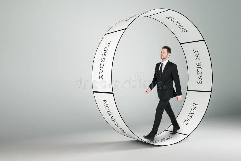 Praca i korporacyjny pojęcie ilustracji