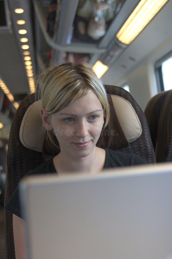 praca pociągu zdjęcie royalty free