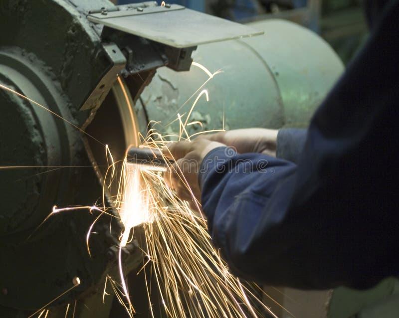 praca przemysłowej zdjęcia stock