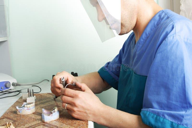 praca stomatologicznej obrazy stock