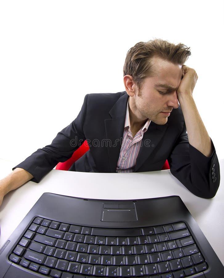 Praca stres obraz stock