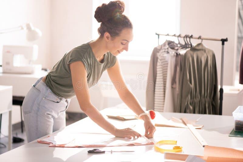 Praca w mody studiu obraz stock