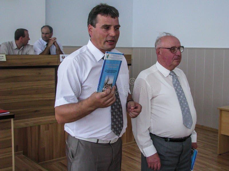 Praca wizytacyjna prowizja dla ochrony praca w Gomel regionie Białoruś zdjęcie royalty free