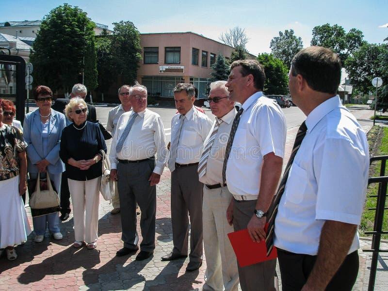 Praca wizytacyjna prowizja dla ochrony praca w Gomel regionie Białoruś obraz royalty free