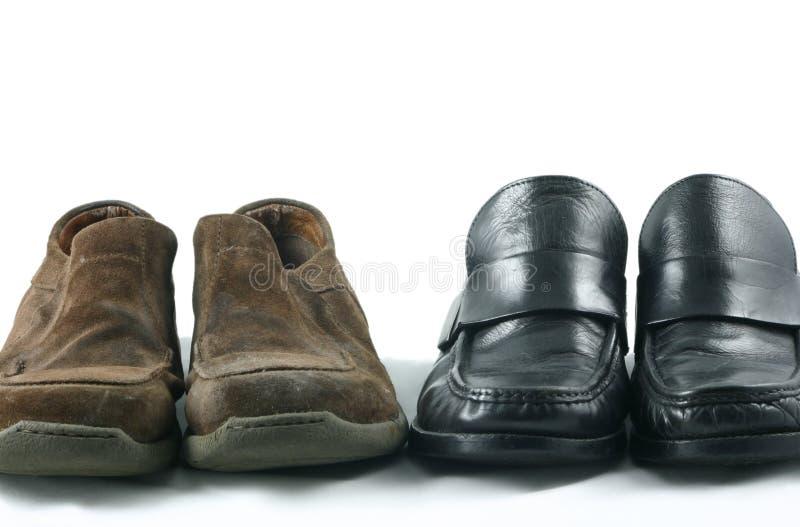 praca wyrywkowe butów fotografia stock