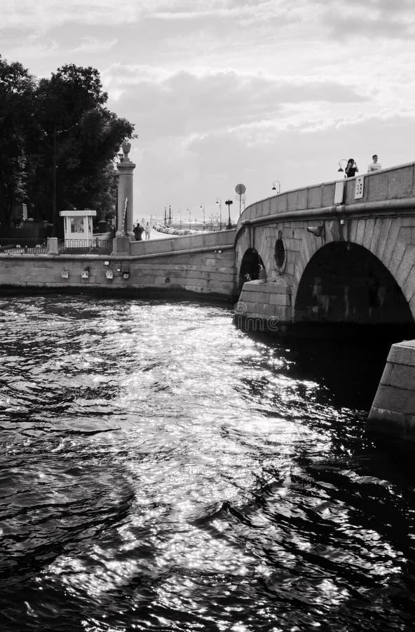 Download Prachechny Bro över Den Fontanka Floden Redaktionell Foto - Bild av turism, trädgård: 78730810