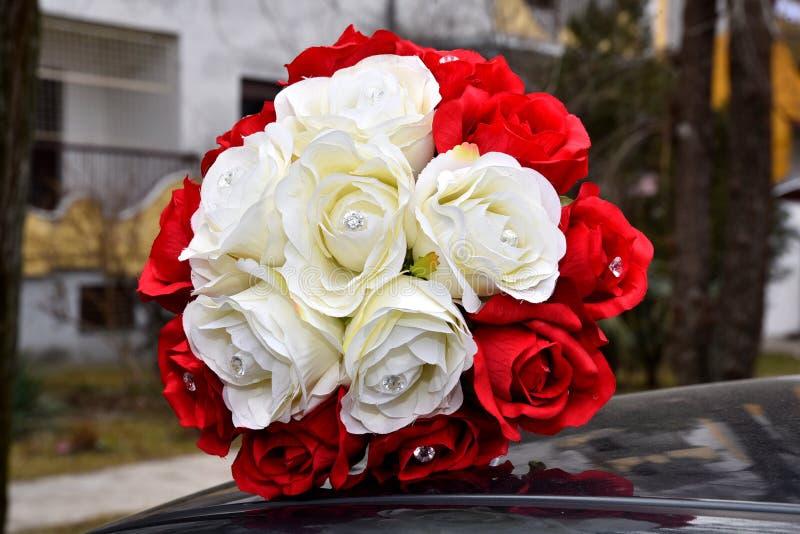 Pracht der roten Rosen seiner Schönheit und Frische lizenzfreies stockfoto