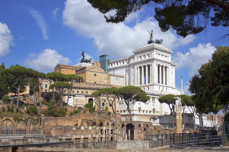 Pracht van Rome stock fotografie
