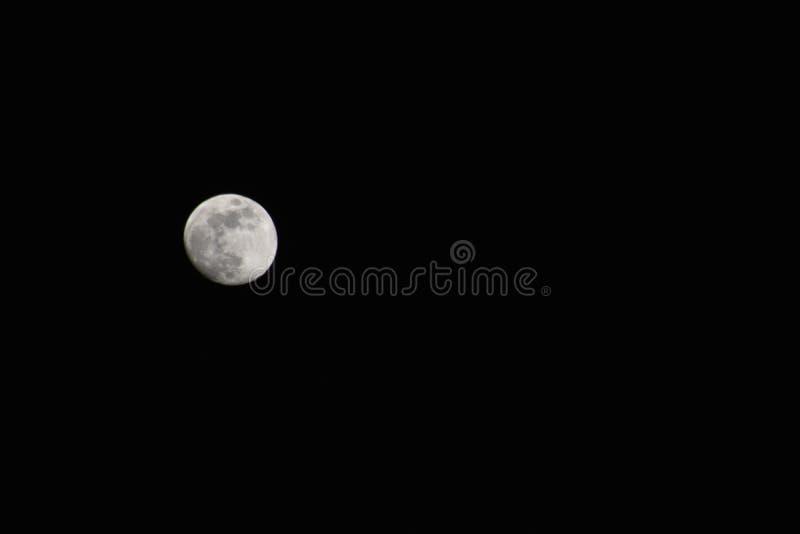 Prachtig beeld van een volle maan bij nacht royalty-vrije stock foto