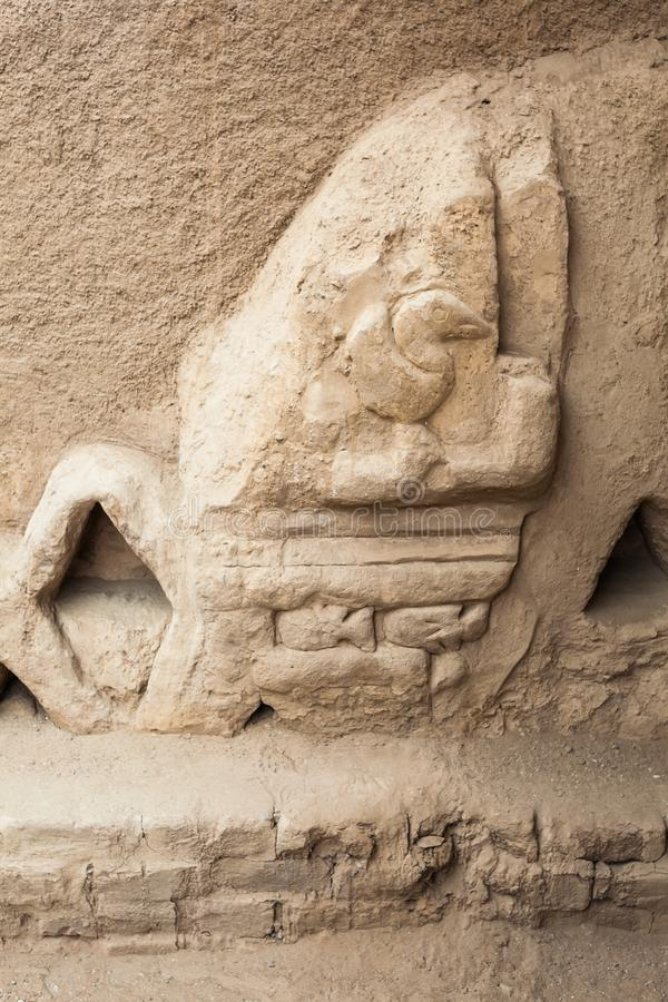 Prachtig gesneden muren royalty-vrije stock afbeeldingen