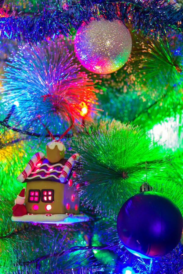 Prachtig Kerstmisspeelgoed stock afbeeldingen