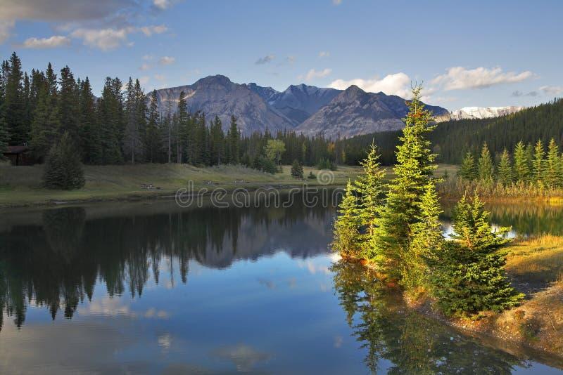 Prachtig landschap. royalty-vrije stock fotografie