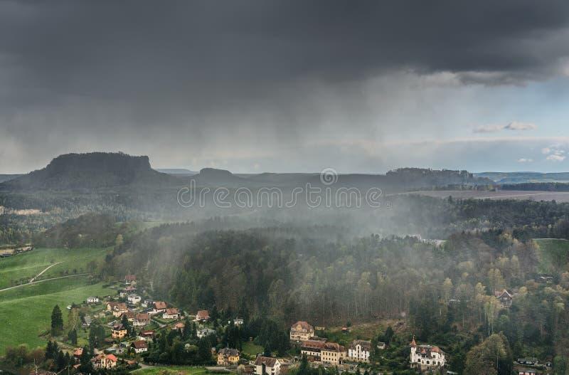 Prachtig mooi berglandschap royalty-vrije stock foto