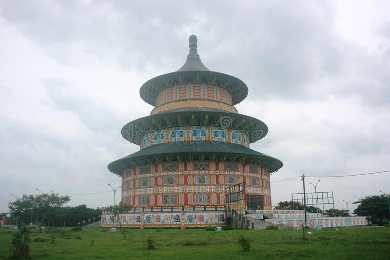Prachtige Boeddhistische tempel royalty-vrije stock foto