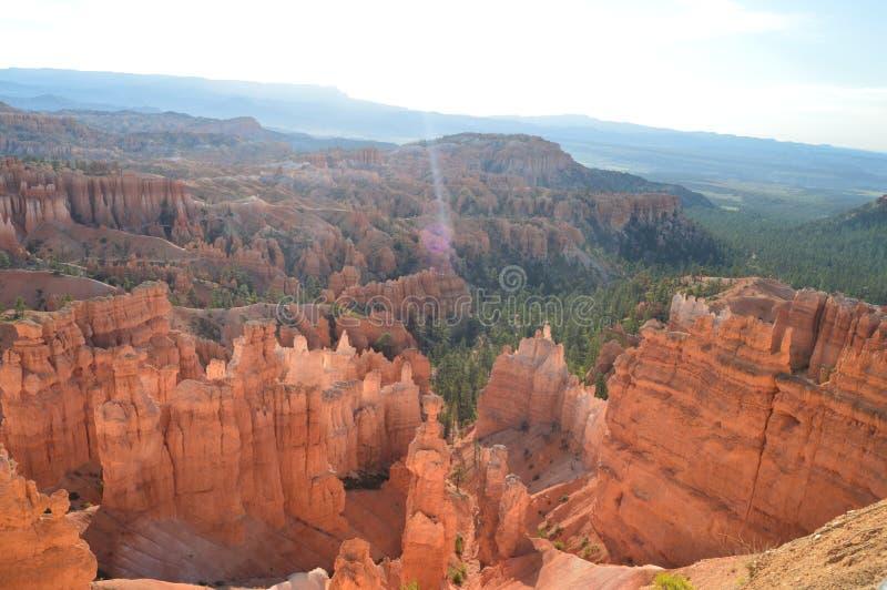 Prachtige Hodes-Vormingen in Bryce Canyon geology Reis nave stock foto