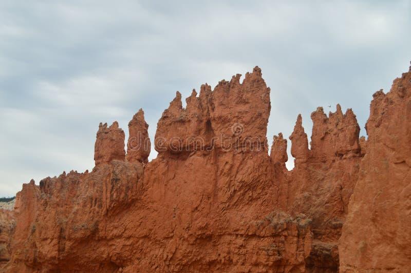 Prachtige Hodes-Vormingen in Bryce Canyon geology Reis nave royalty-vrije stock foto's