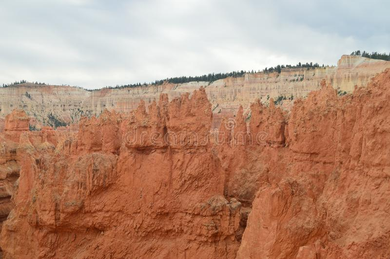 Prachtige Hodes-Vormingen in Bryce Canyon geology Reis nave royalty-vrije stock foto