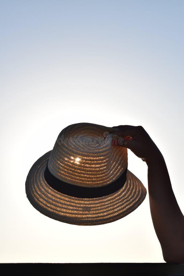 Prachtige hoed Goed idee voor behang royalty-vrije stock fotografie