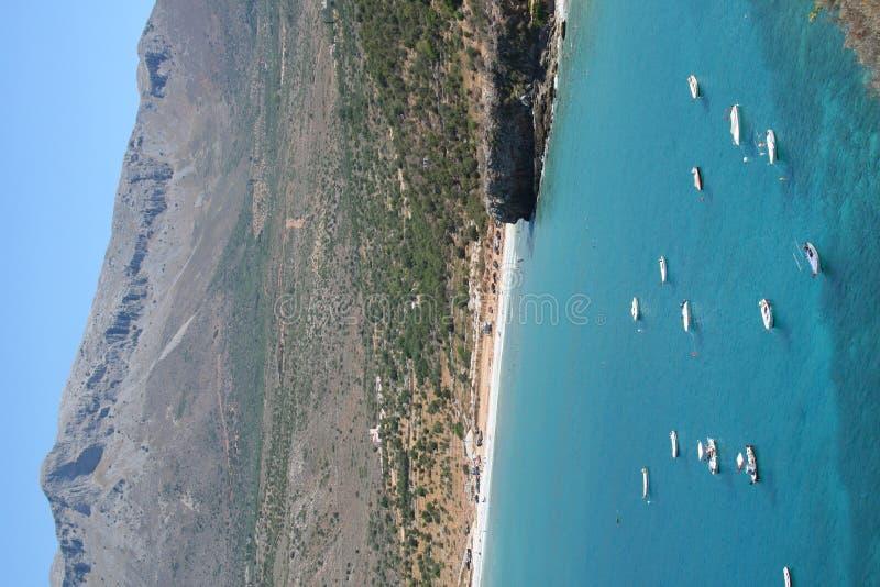 Prachtige manistranden - Griekenland stock foto's