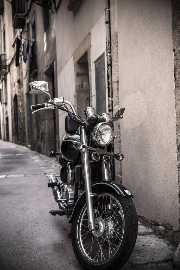 Prachtige motorfiets royalty-vrije stock foto