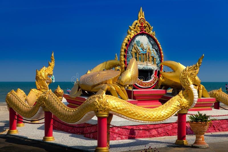 Prachuap Khiri Khan Thailand royaltyfria bilder