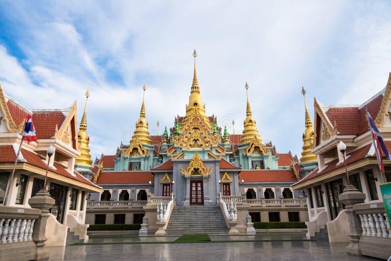 Prachuap Khiri Khan Thailand - April, 17, 2017: Wat Thang Sai royaltyfri fotografi