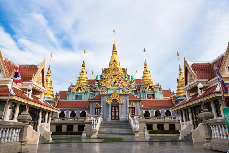 Prachuap Khiri Khan, Thailand - April, 17, 2017 : Wat Thang Sai royalty free stock photography