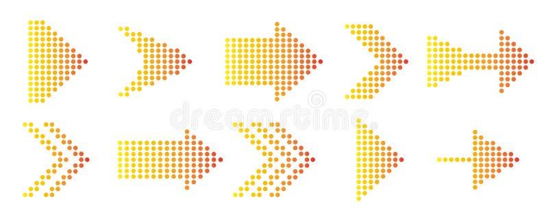 Prack pilar ställde in för design också vektor för coreldrawillustration vektor illustrationer