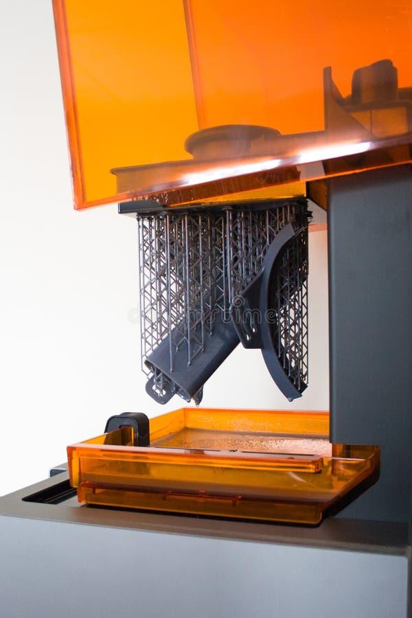 Pracować 3D drukarkę zdjęcia stock