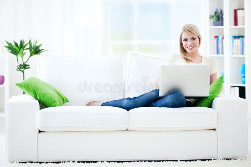 Pracować w domu fotografia royalty free