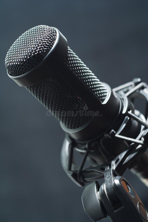 Pracowniany mikrofon obrazy stock
