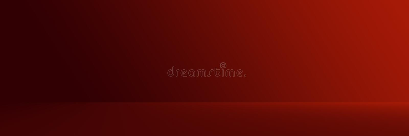 Pracowniany tło - Jaskrawy Czerwony Gradientowy horyzontalny pracowniany pokój ściany tło ilustracji