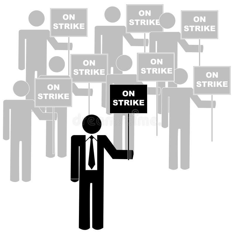 pracowników na rzecz związków ilustracji