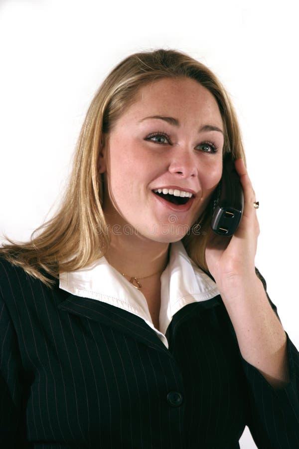 pracownik biurowy telefonu zdjęcia stock