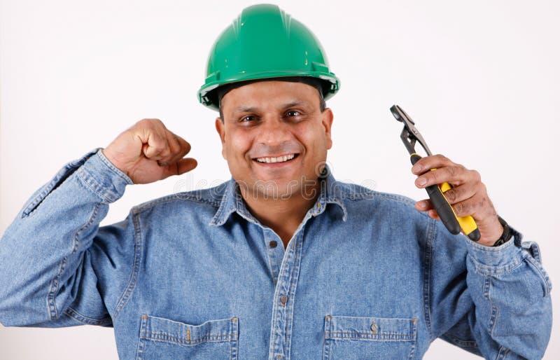 Download Pracownik budowlany zdjęcie stock. Obraz złożonej z wyrwanie - 13332300
