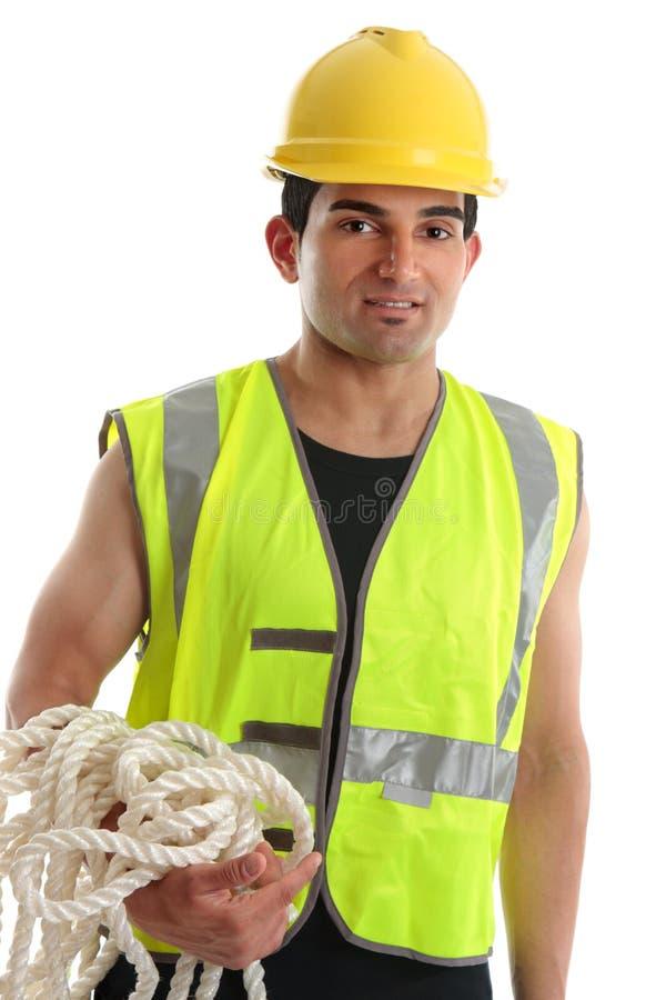 pracownik budowlany zdjęcie stock