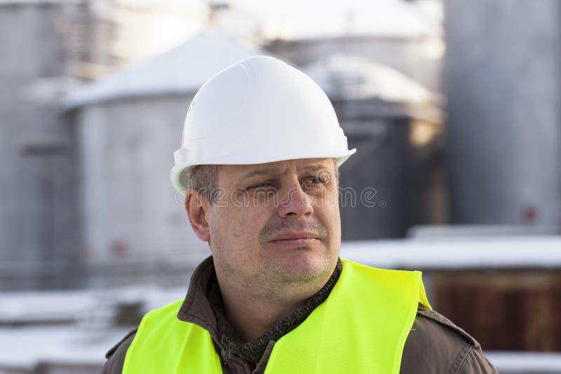 Pracownik fabryczny obrazy stock