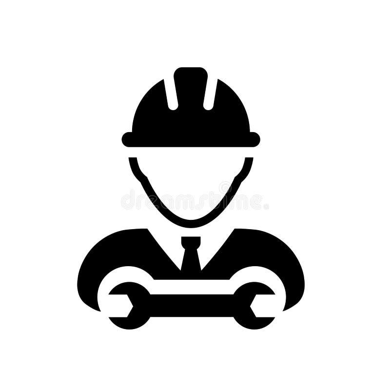 pracownik ikona dla wektoru ilustracji
