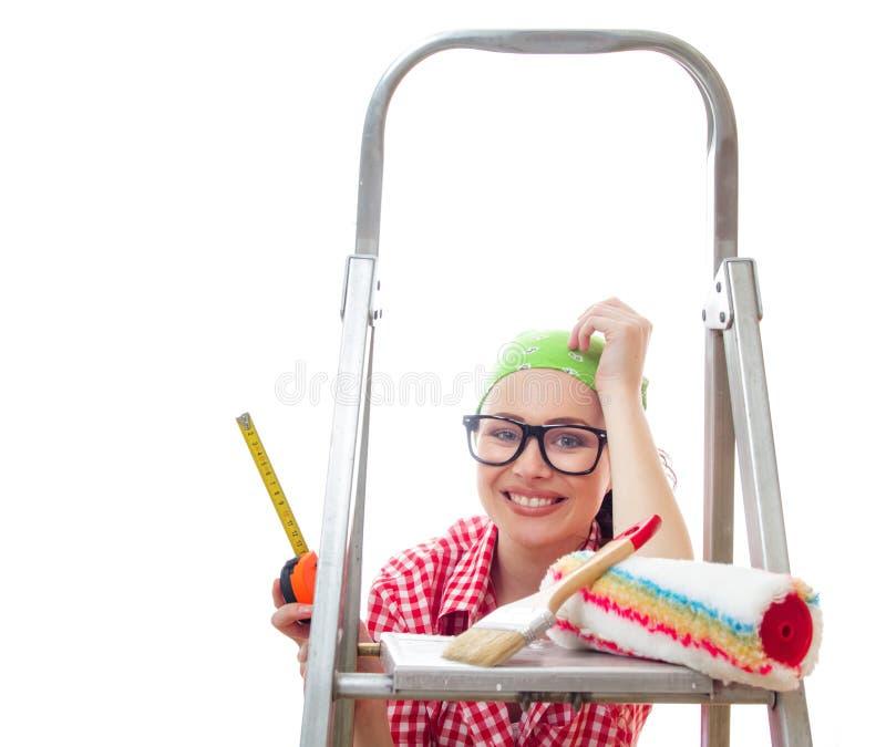 Pracownik kobieta obrazy stock