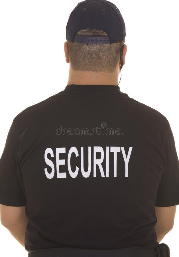 Pracownik ochrony obraz royalty free
