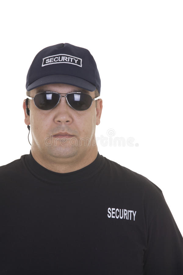 Pracownik ochrony zdjęcie stock